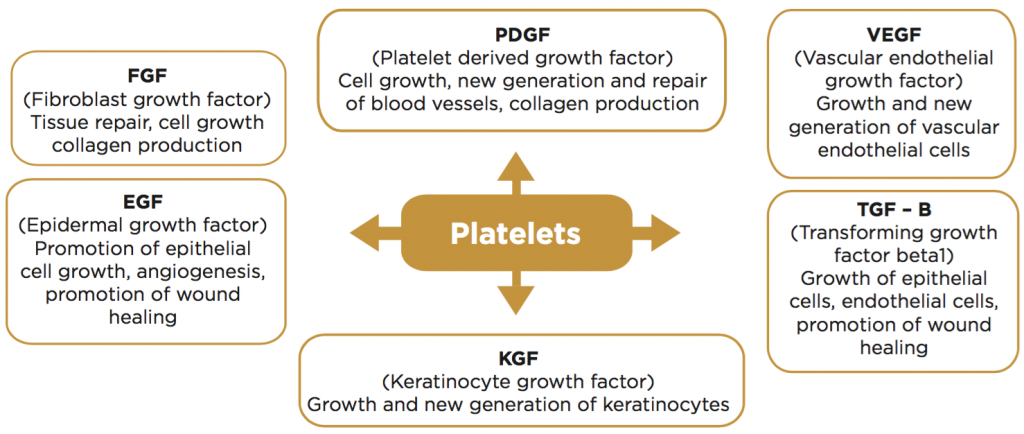 Platelets-Release-Growth-Factors-Gold